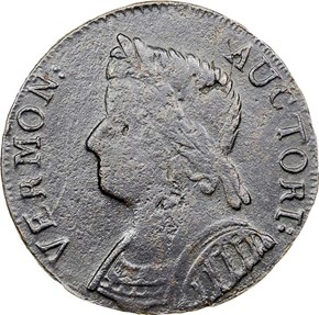 1786 BUST LEFT VERMONT MS obverse