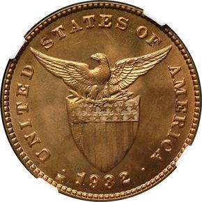1932 M USA-PHIL 1C MS reverse
