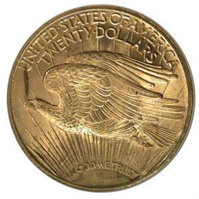 1923 $20 MS reverse