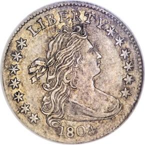 1804 10C MS obverse