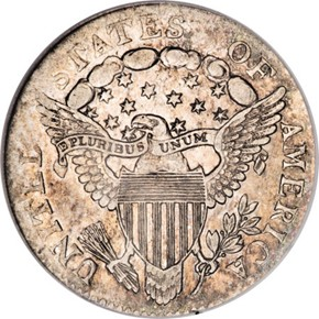 1804 14 STARS REV JR-2 10C MS reverse