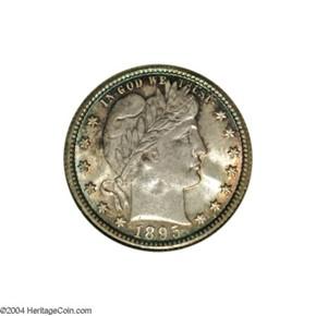 1895 O 25C MS obverse