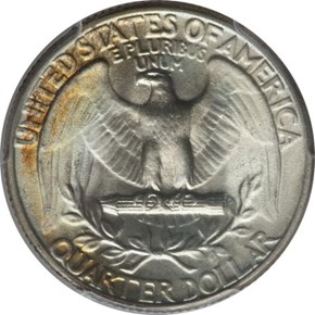 1947 25C MS reverse