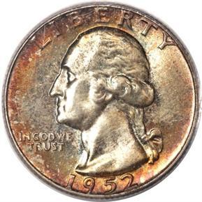 1952 25C MS obverse
