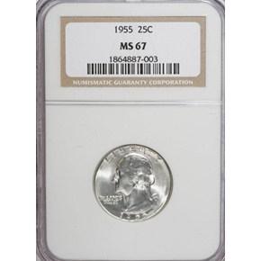 1955 25C MS obverse