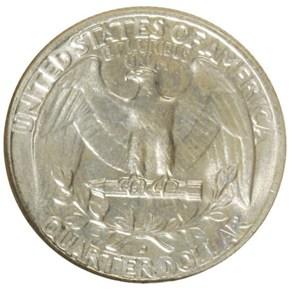 1955 D 25C MS reverse