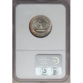 1957 D 25C MS reverse