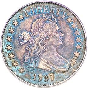 1797 50C MS obverse