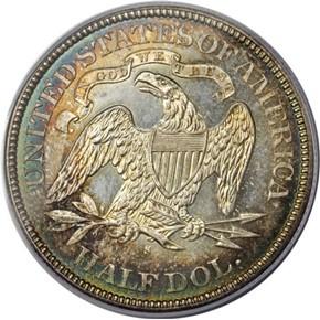 1876 S 50C MS reverse