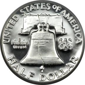 1956 TYPE 1 50C PF reverse