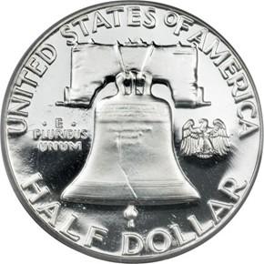 1961 50C PF reverse