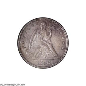 1856 S$1 MS obverse
