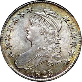 1825 50C MS obverse