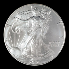 2006 W EAGLE S$1 MS obverse