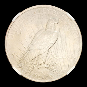 1923 S$1 MS reverse