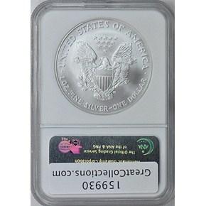 1889 S$1 MS reverse