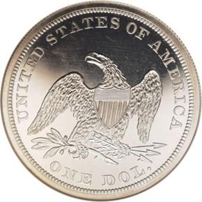 1861 G$1 PF reverse