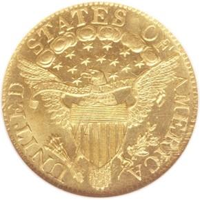1804 $5 MS reverse
