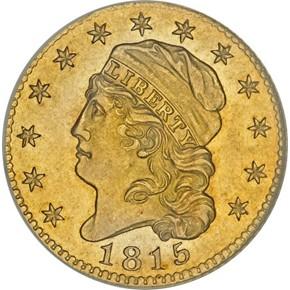 1815 $5 MS obverse