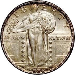 1928 25C MS obverse