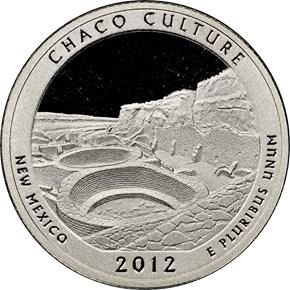 2012 S SILVER CHACO 25C PF obverse