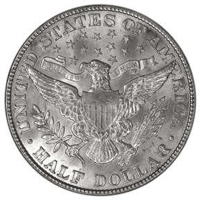 1909 50C MS reverse