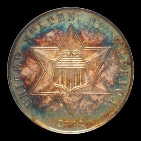 1862 3CS PF obverse