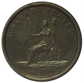 1783 LARGE BUST WASHINGTON & INDEPENDENCE MS reverse