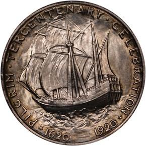 1920 PILGRIM 50C MS reverse