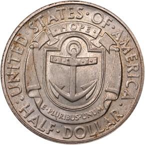 1936 S RHODE ISLAND 50C MS reverse