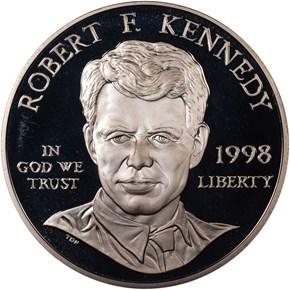 1998S ROBERT KENNEDY S$1 PF obverse