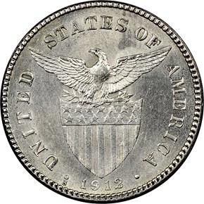 1912 S USA-PHIL 20C MS reverse