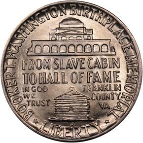1947 D BOOKER T. WASHINGTON 50C MS reverse