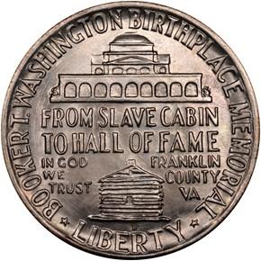 1949 D BOOKER T. WASHINGTON 50C MS reverse