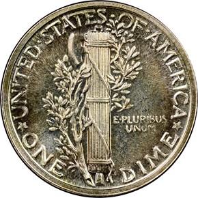 1941 10C PF reverse