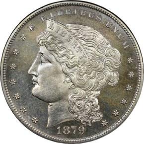 1879 J-1617 S$1 PF obverse