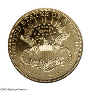 1903 $20 PF reverse