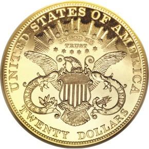 1904 $20 PF reverse