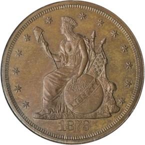 1872 J-1216 T$1 PF obverse