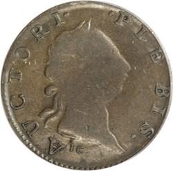 1787 AUCTORI PLEBIS TOKEN MS obverse