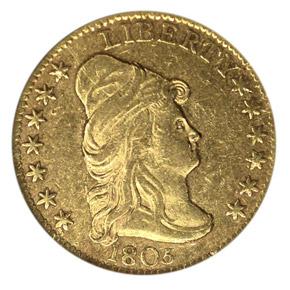 1805 $2.5 MS obverse