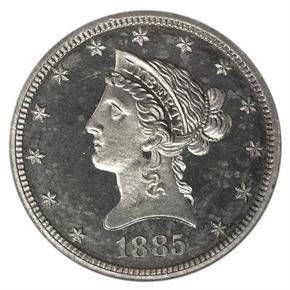 1885 J-1755 $10 PF obverse