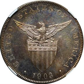 1903 USA-PHIL PESO PF reverse