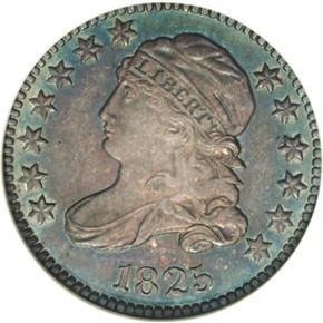 1825 10C PF obverse