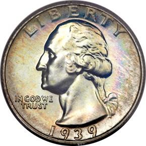 1939 25C PF obverse