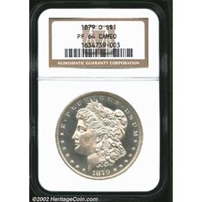 1879 O S$1 PF obverse