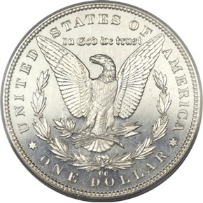 1893 CC S$1 PF reverse