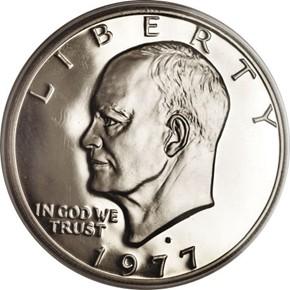 1977 S $1 PF obverse