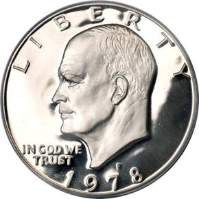 1978 S $1 PF obverse