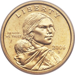 2006 D $1 MS obverse